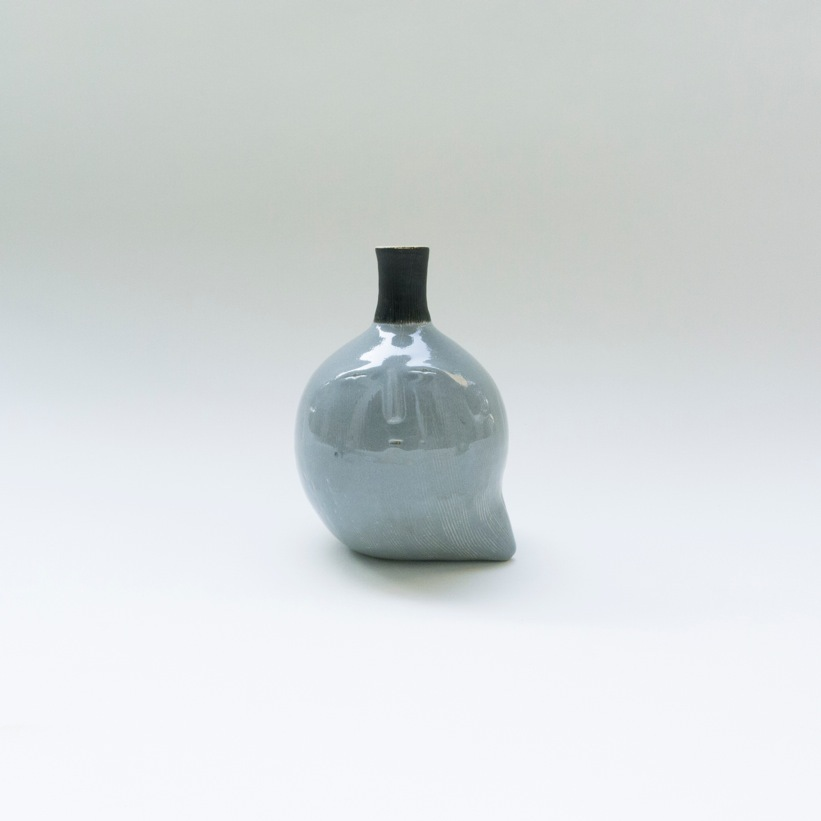 Japanese Visitor Decorative Vase By CLAYMEN