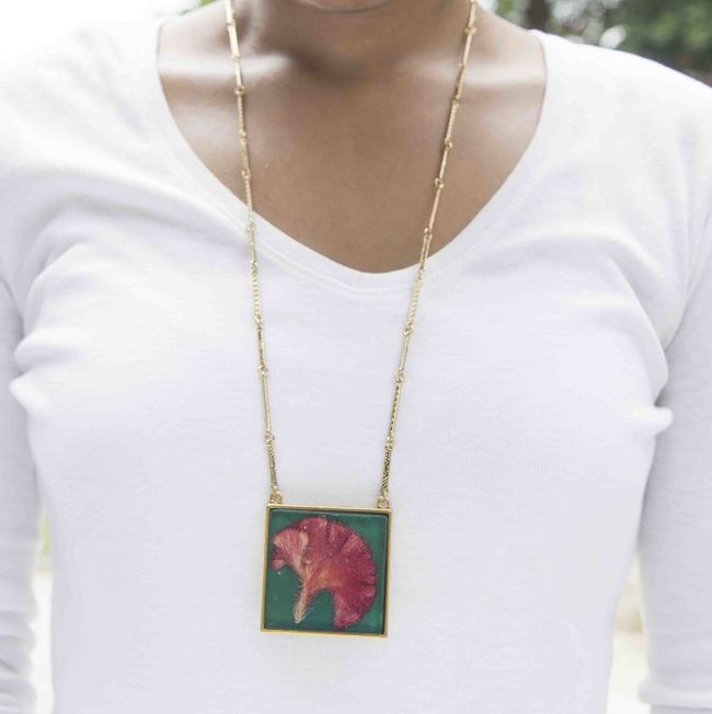 Square 45mm necklace 4