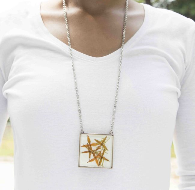 Square 45mm necklace 14