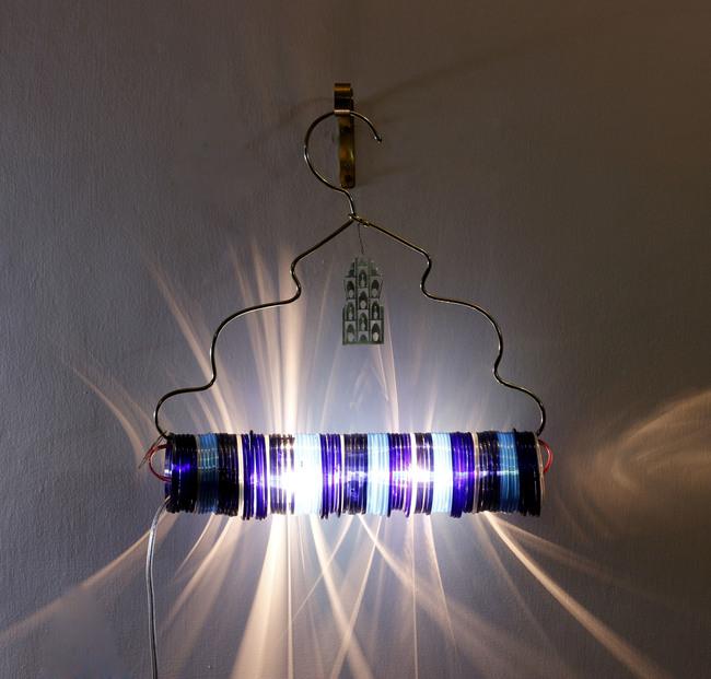 Jaipur choori lamp in underwater blue by sahil and sarthak 2