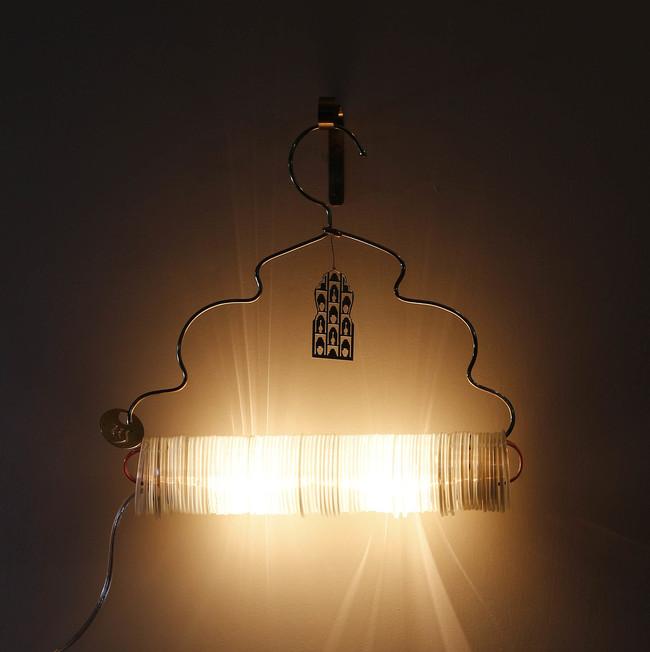 Jaipur choori lamp in white 2
