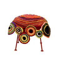 Chakri Seat : Multicolor Furniture By Sahil & Sarthak