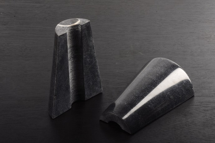 Monumental Bookends (black) Book End By Atelier DS