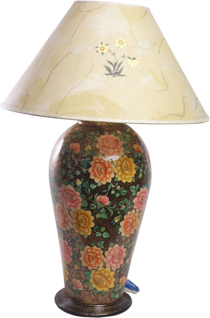 Floral Table Lamp Table Lamp By Hands of Gold