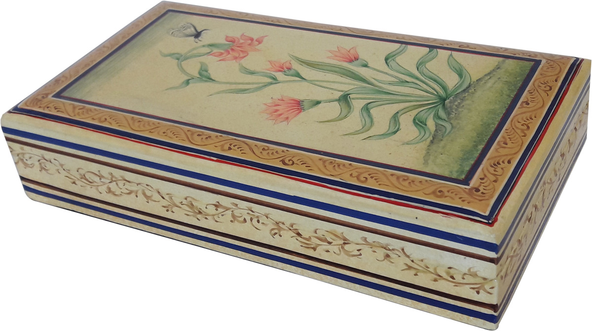 Mughal Flower Box Decorative Box By Hands of Gold