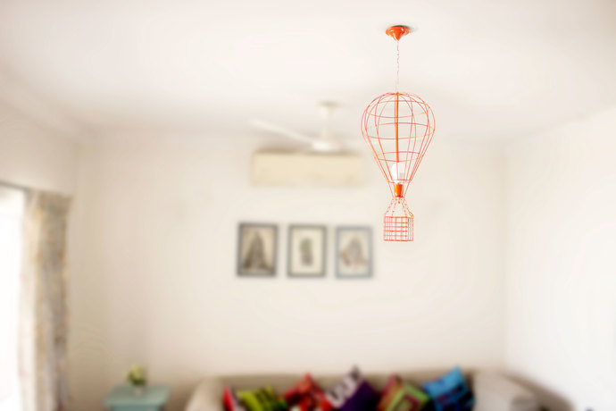 PoppadumArt Hot Air Balloon Lamp Ceiling Lamp By PoppadumArt
