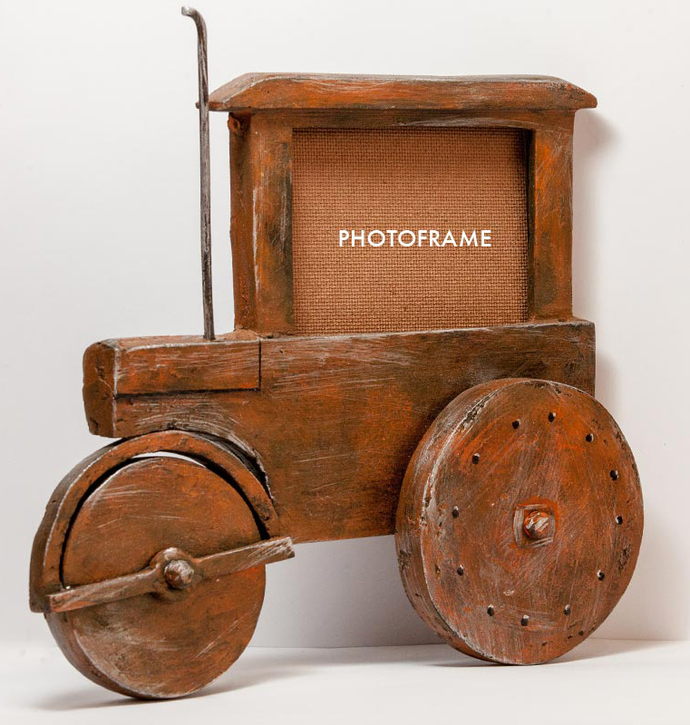 Steam Roller Wall Photoframe Photo Frame By THE ART SPA