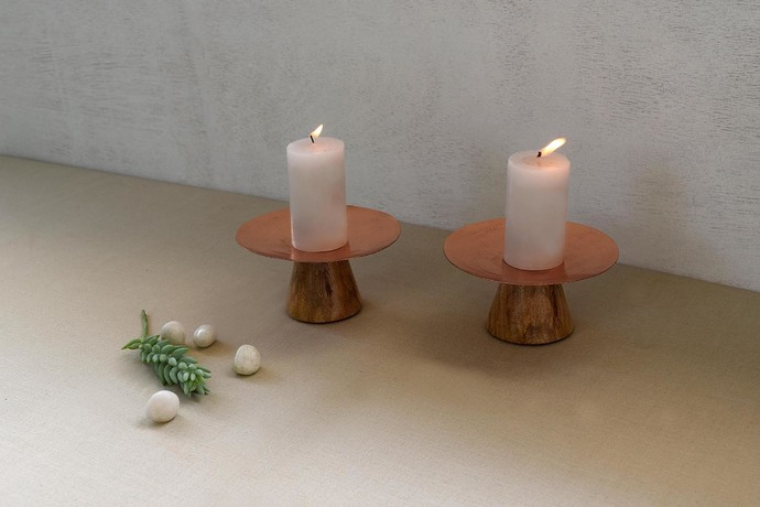 Dawnlight Candle Holder Candle Stand By Studio Coppre