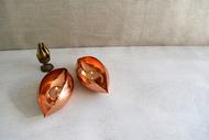 Copper Pod Large T-Light and Votive Holder By Studio Coppre