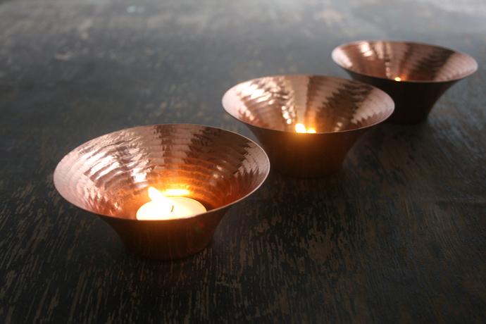 Little Glimmer - Tea Light T-Light and Votive Holder By Studio Coppre