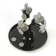 Money Plant - Black Artifact By Studio ABD