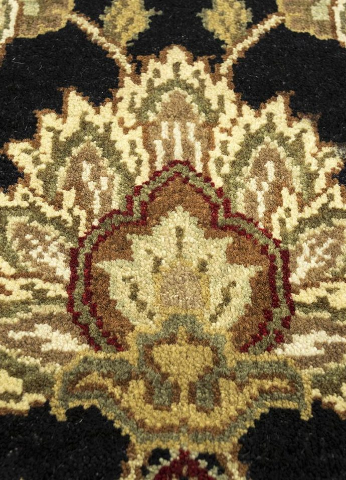 2'6X10 Hand Knotted Classic Wool Rugs Carpet and Rug By Jaipur Rugs