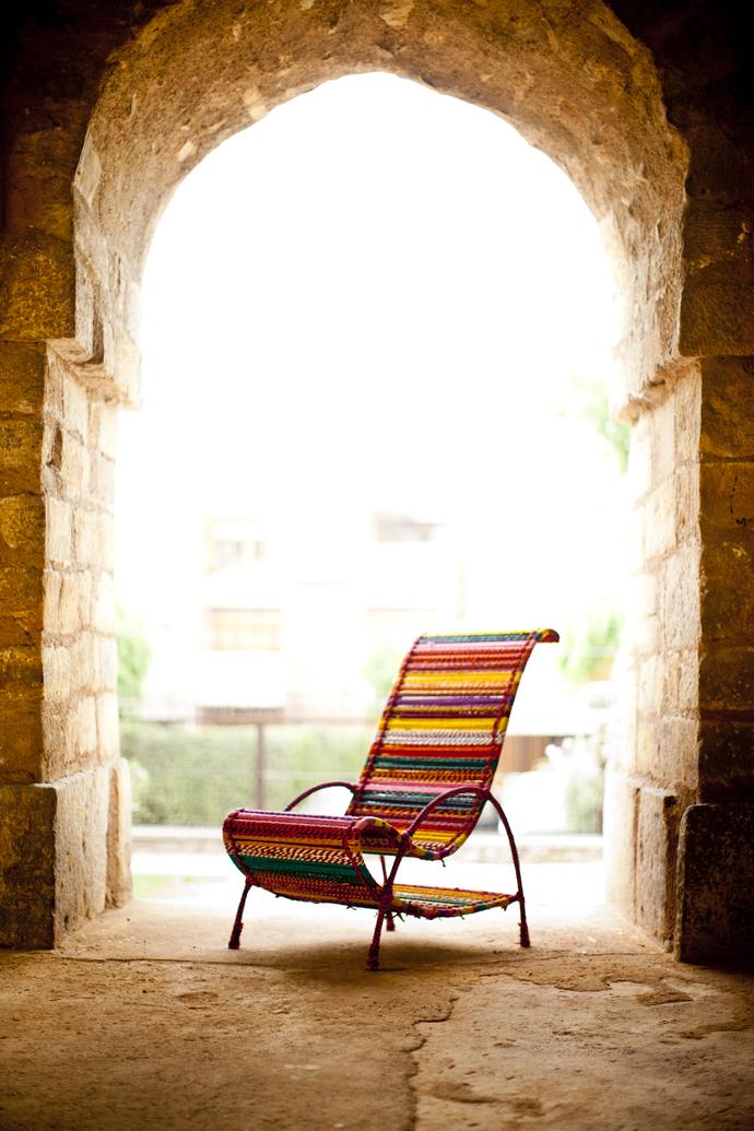 Pelican Chair - Multicolor Furniture By Sahil & Sarthak