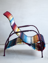 Seraphina Chair - In California Sunset Furniture By Sahil & Sarthak