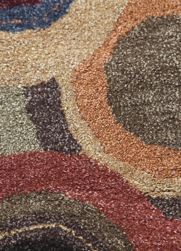 5X8 Hand Tufted Modern Wool & Viscose Rugs Carpet and Rug By Jaipur Rugs