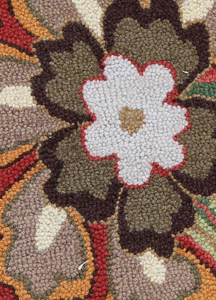 Indian Handmade Rugs 5X8 Hand Tufted Transitional Wool Rugs Carpet and Rug By Jaipur Rugs