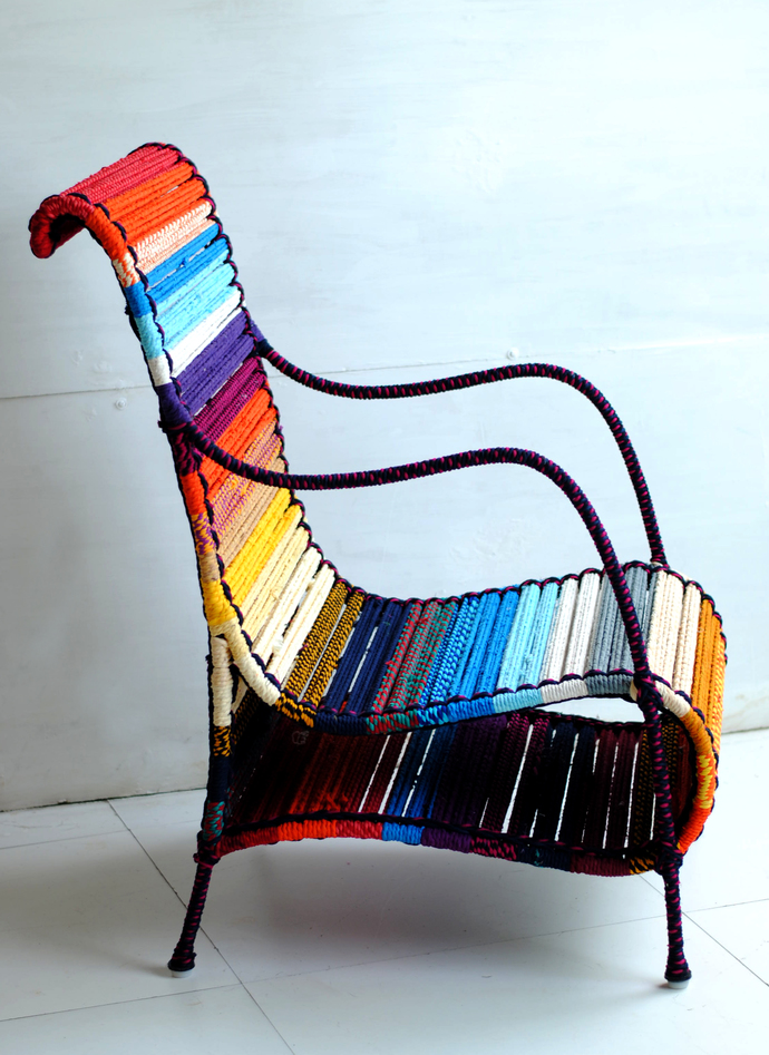 Love Chair In California Sunset Furniture By Sahil & Sarthak