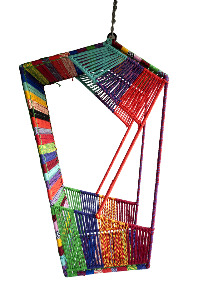 Hang rickshaw in multicolor by sahil   sarthak