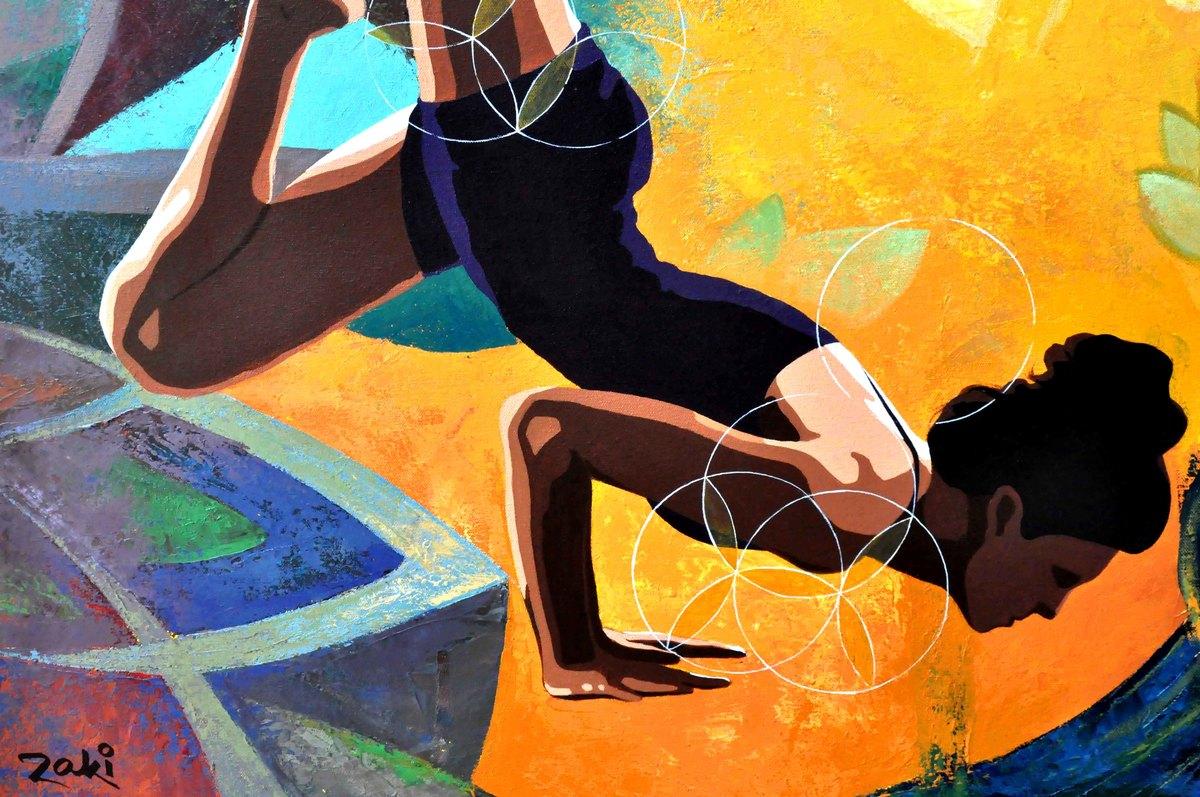 Yoga art 3