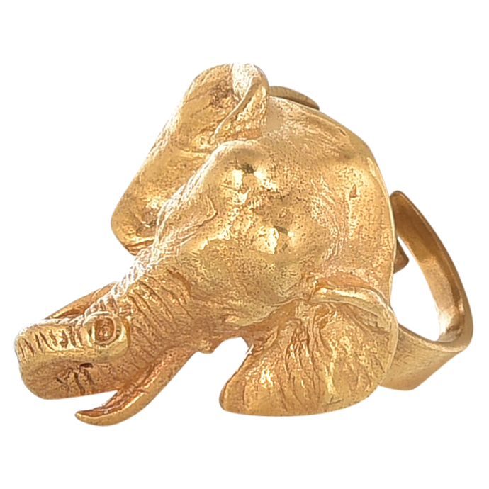 Elephant Ring by Ambar Pariddi Sahai , Contemporary Ring