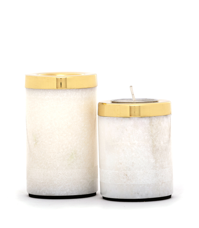 Yang Tealight Towers Candle Stand By Studio Saswata