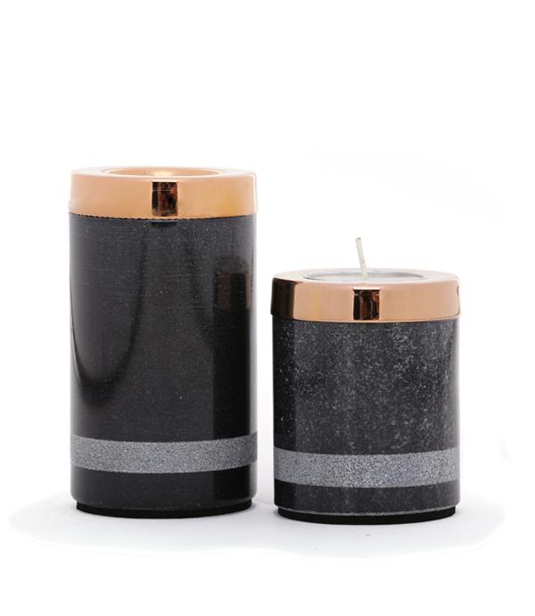 Yin Tealight Towers Candle Stand By Studio Saswata