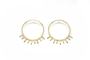 SUNSHINE HOOPS Earring By MYO