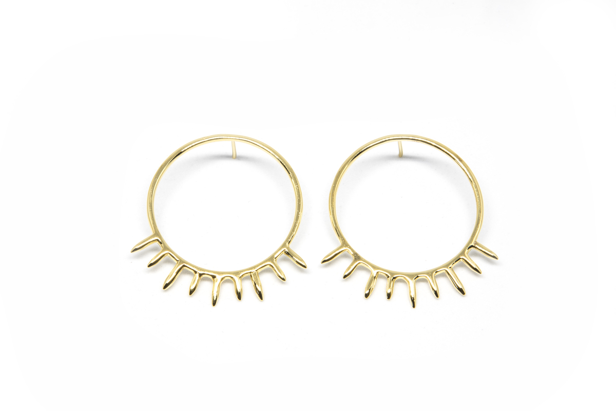 SUNSHINE HOOPS by MYO , Contemporary Earring