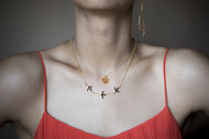 FAITH NECKLACE by MYO , Art Jewellery Necklace