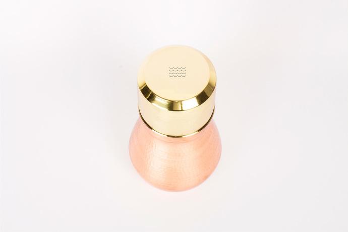 Watr Carafe-mini [Brass glass] Serveware By Rayden Design Studio