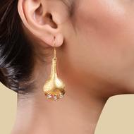 FOLDED PETAL EARRING by Symetree, Art Jewellery Earring