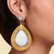 TRENDY DROP EARRING by Symetree, Contemporary Earring