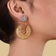 FILIGREE DOME EARRINGq by Symetree, Art Jewellery Earring