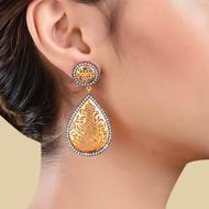 FILIGREE DROP DANGLE by Symetree, Art Jewellery Earring