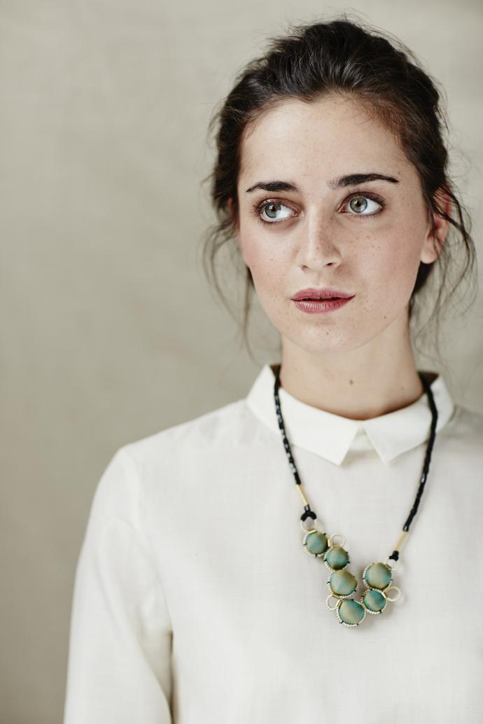 Amu Necklace by Eisha Designs, Contemporary Necklace