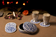 Paisley Coaster Set By Eclectic Elan