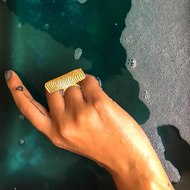 Ocean Ring 1 by Studio Kassa, Art Jewellery Ring