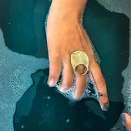 Ocean Ring 2 by Studio Kassa, Art Jewellery Ring