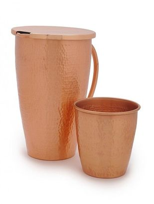 COURTYARD JAIPURI PITCHER & GLASS Kitchen Ware By COURTYARD
