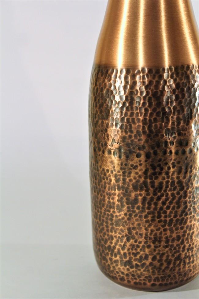 Courtyard jaipuri water bottle%28white%292