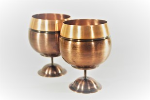 COURTYARD JALTARANG GOBLET SET OF 2 Kitchen Ware By COURTYARD