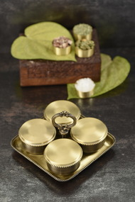 COURTYARD RAJBHOG MUKHWAS SET Kitchen Ware By COURTYARD