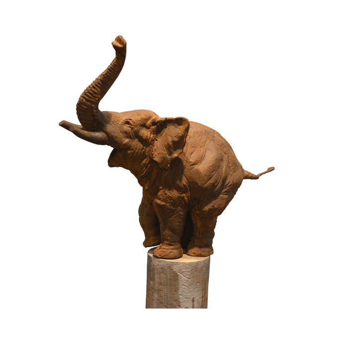 UNTITLED by Debi Prasad Bhunia, Art Deco Sculpture | 3D, Mixed Media, White color