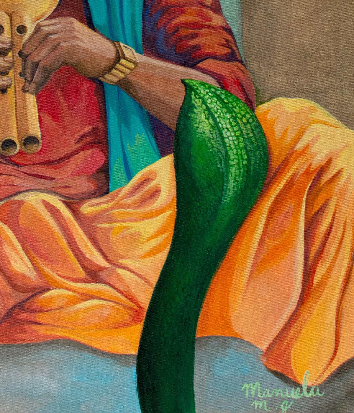 Snake charmer for mojarto 1