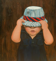 Innocent Fun by Amit Kenny, Expressionism Painting, Acrylic on Canvas,