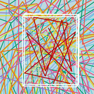Fluid Prison 5 Digital Print by Anuj Madan,Abstract