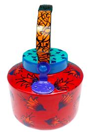 Limited Edition kettle- Floaty Flowers Serveware By Pyjama Party Studio