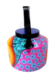 Limited Edition kettle- Rajasthani woman Serveware By Pyjama Party Studio