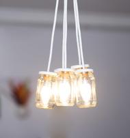 PoppadumArt JamLamp - PlainJane Ceiling Lamp By PoppadumArt