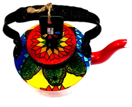 Premium hand-painted kettle- Turkish Treat Serveware By Pyjama Party Studio